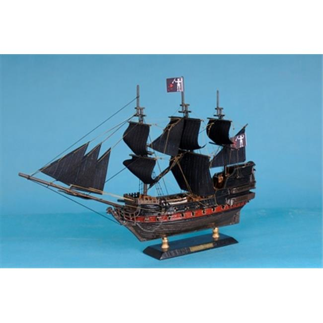 Handcrafted Model Ships Caribbean-Pirate-LIM-15 Caribbean Pirate Ship Limited 15 in. Decorative Model Pirate... by Handcrafted Model Ships