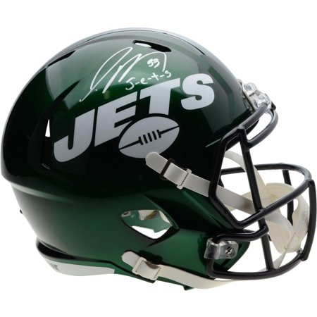Jamal Adams New York Jets Autographed Riddell Speed Replica Helmet with