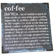 River Cottage Gardens Coffee Textual Art