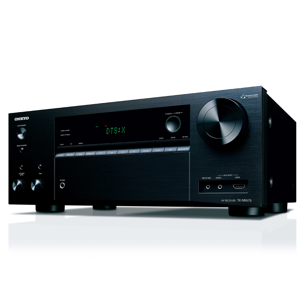 Onkyo TX-NR676 7 2-Channel Network A/V Receiver with Spotify, Airplay, and  Chromecast