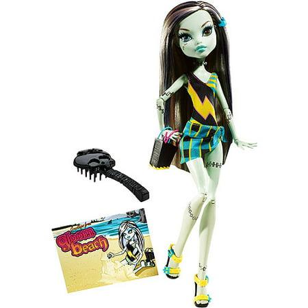 Monster High Gloom Beach Frankie Stein Doll (Frankie Stein Cartoon)