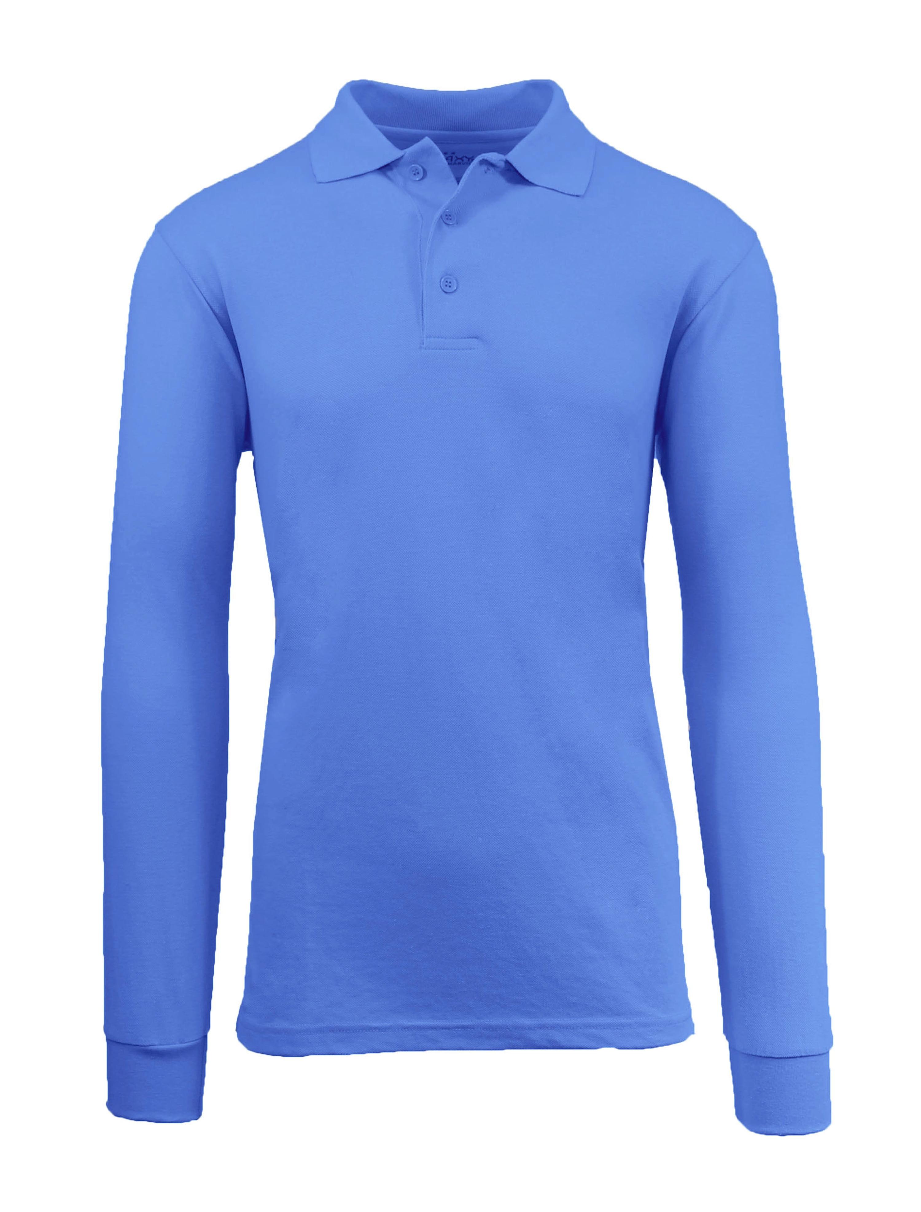 Men's Long Sleeve Polo Shirts