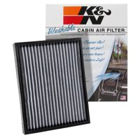 K&N VF2049 Washable & Reusable Cabin Air Filter Cleans and Freshens Incoming Air for your Ford