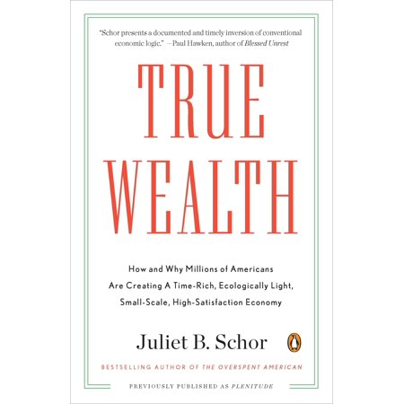True Wealth : How and Why Millions of Americans Are Creating a Time-Rich, Ecologically Light, Small-Scale, High-Satisfaction