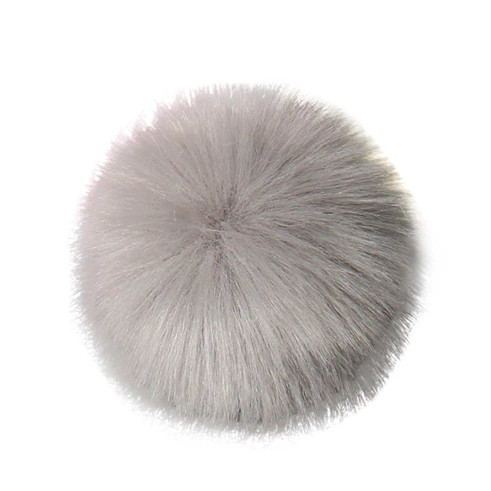288284f80ae Outtop DIY Faux Fox Fur Fluffy Pompom Ball for Knitting Hat Hats -  Walmart.com