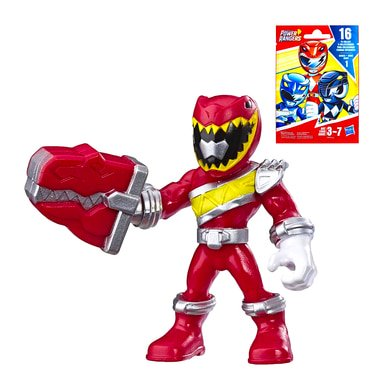 Power Rangers Dino Charge Red Ranger (Dino Charge Red Ranger Power Rangers Playskool Heroes Blind Bag Factory Sealed)