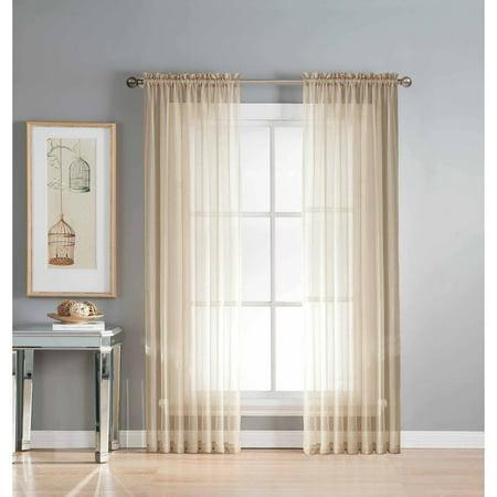 Sheer Elegance Curtain Panel Pairs