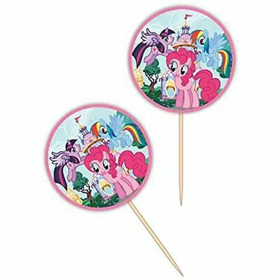 My LIttle Pony Fun Picks Cupcake Toppers - 24 Count - 2113-4700 - National Cake Supply - My Little Pony Cupcake Topper