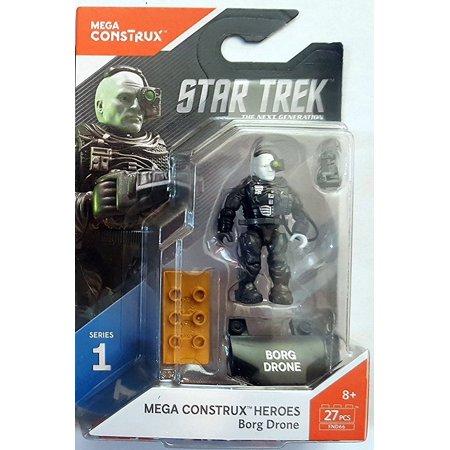 Heroes Series 1 Star Trek: The Next Generation Borg Figure, By Mega - Next Generation Series