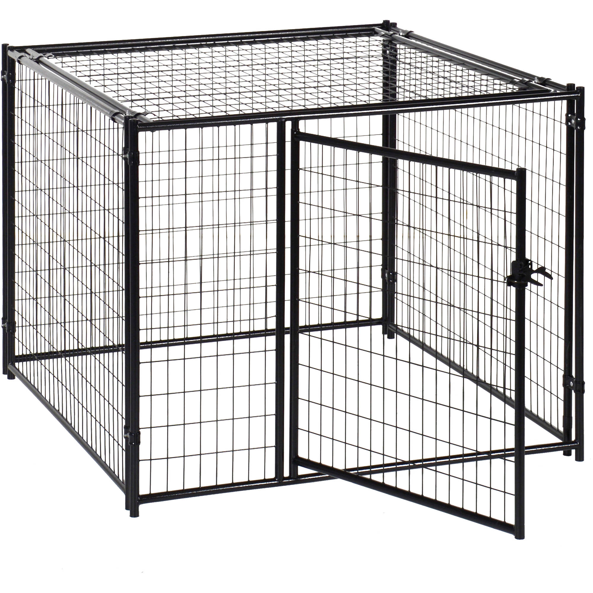 Lucky Dog 5'L x 5'W x 4'H with Pred Top Kennel