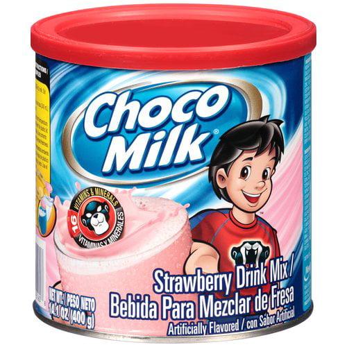 Choco Milk Strawberry Drink Mix, 14.1 oz