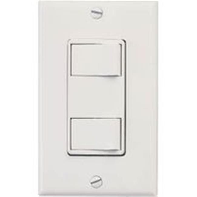 Air King America Switch Double Toggle White AKS2 - image 1 of 1