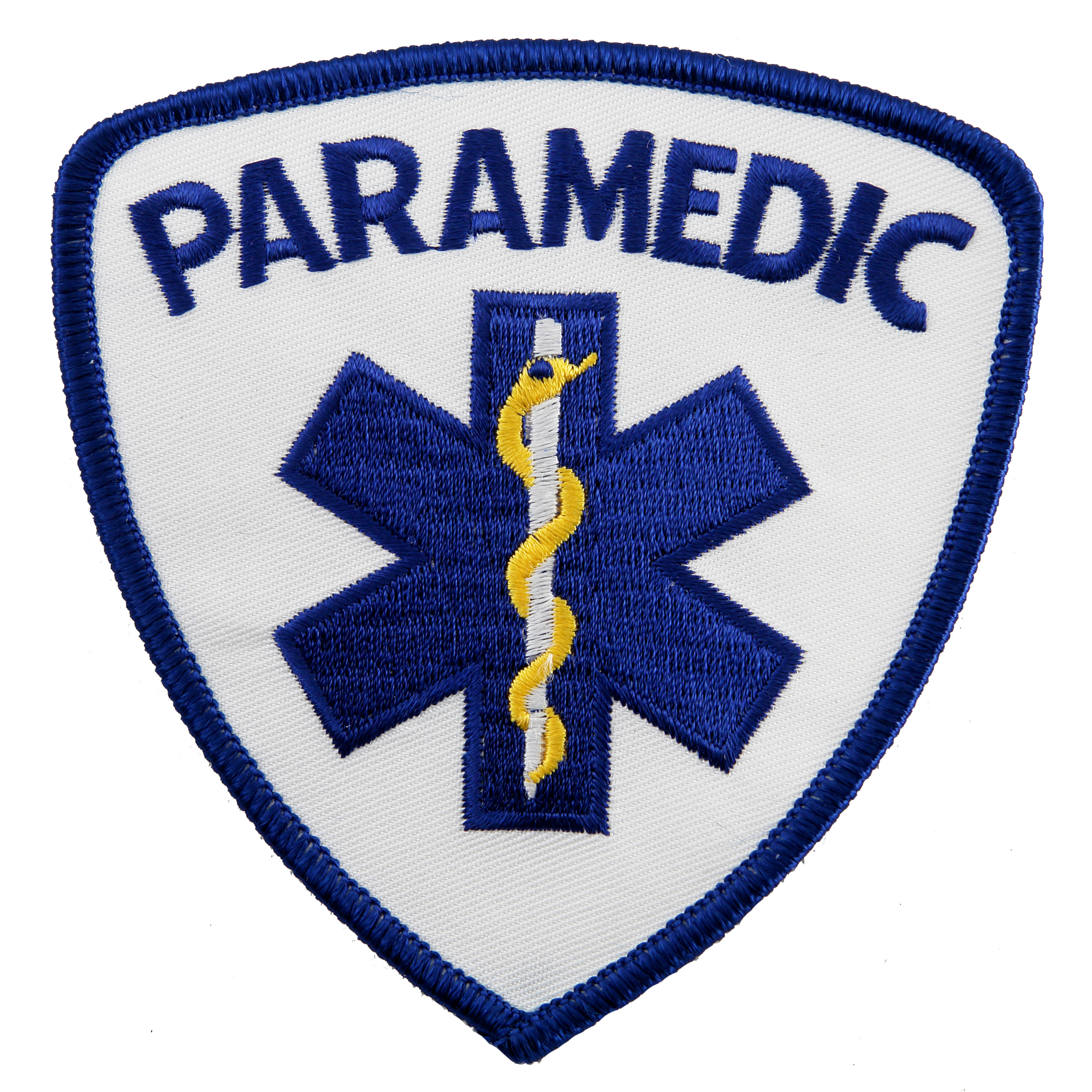 Paramedic Star of Life EMT Uniform Iron-on Embroidered Patch