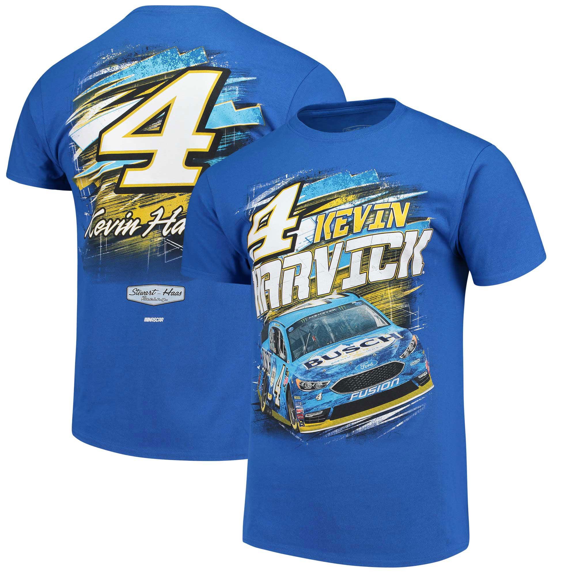 Kevin Harvick Busch Torque T-Shirt - Royal