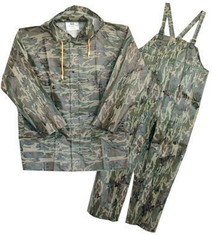 Boss Rainsuit Medium 35 Mil Camouflage by Boss Mfg Co.