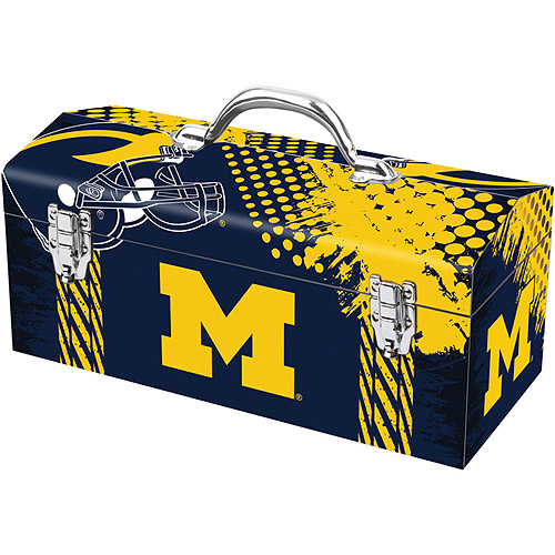 "Sainty 79-435 University of Michigan 16"" Tool Box"