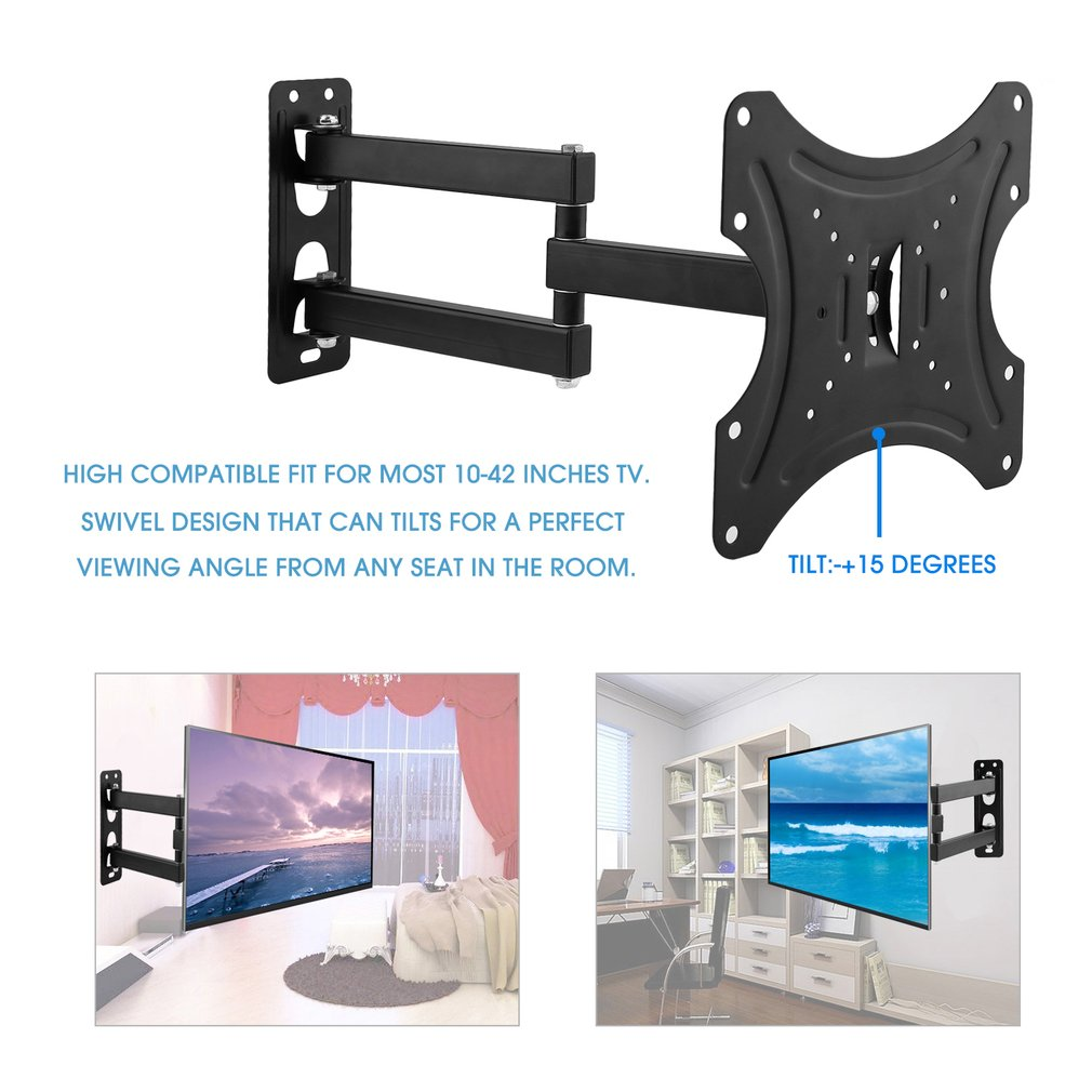 rotatable tv stand wall mounting tv bracket holder fit for inches tv