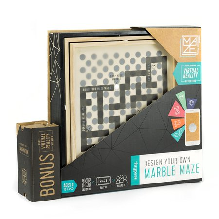 Seedling Design Your Own Marble Maze | A DIY Virtual Reality Adventure ()