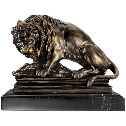 Design Toscano SP850 Lion on Boar Statue