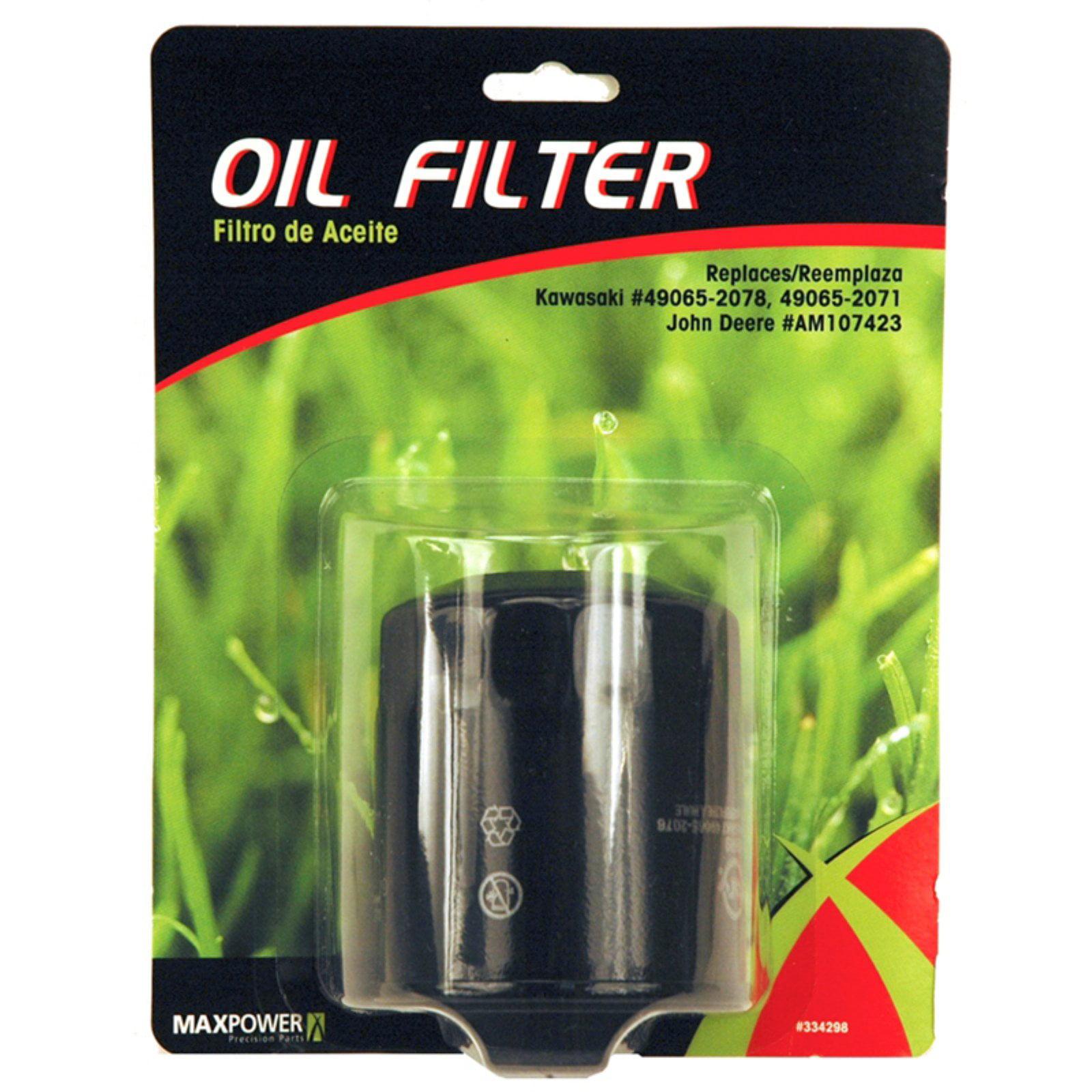 Maxpower 334298 Oil Filter For Kawasaki