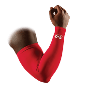 McDavid MD6566 Compression Arm Sleeves/Pair, Adult S, SCARLET