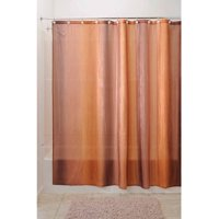 Product Image InterDesign Ombre Fabric Shower Curtain Standard 72 X Brown Gold