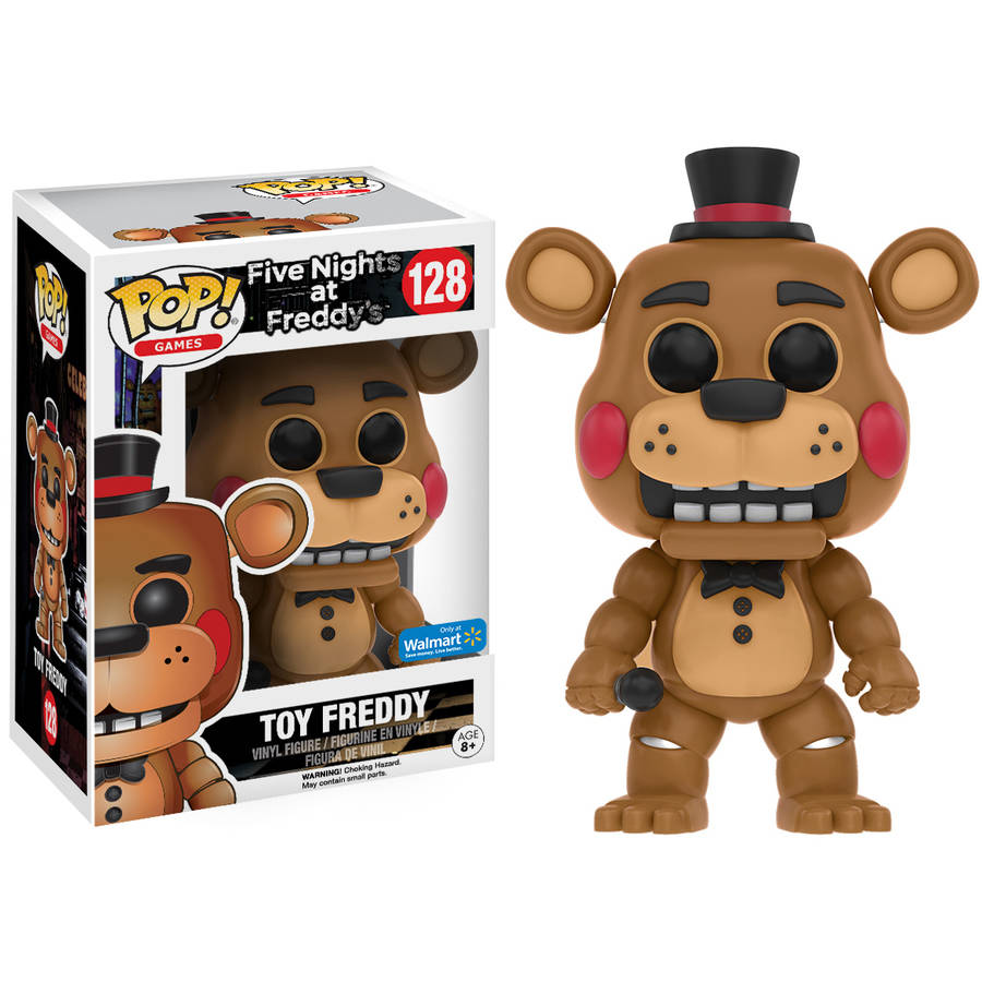 POP Games: Five Nights at Freddy's Toy Freddy Figure