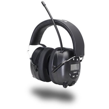 ION Audio Tough Sounds Hearing Protection Headphones with Bluetooth and