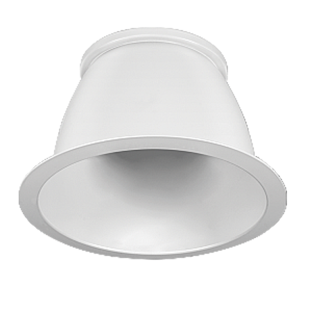 RAB Lighting 7in New Construction Downlight Reflector White Cone White Trim Cone Reflector White Trim