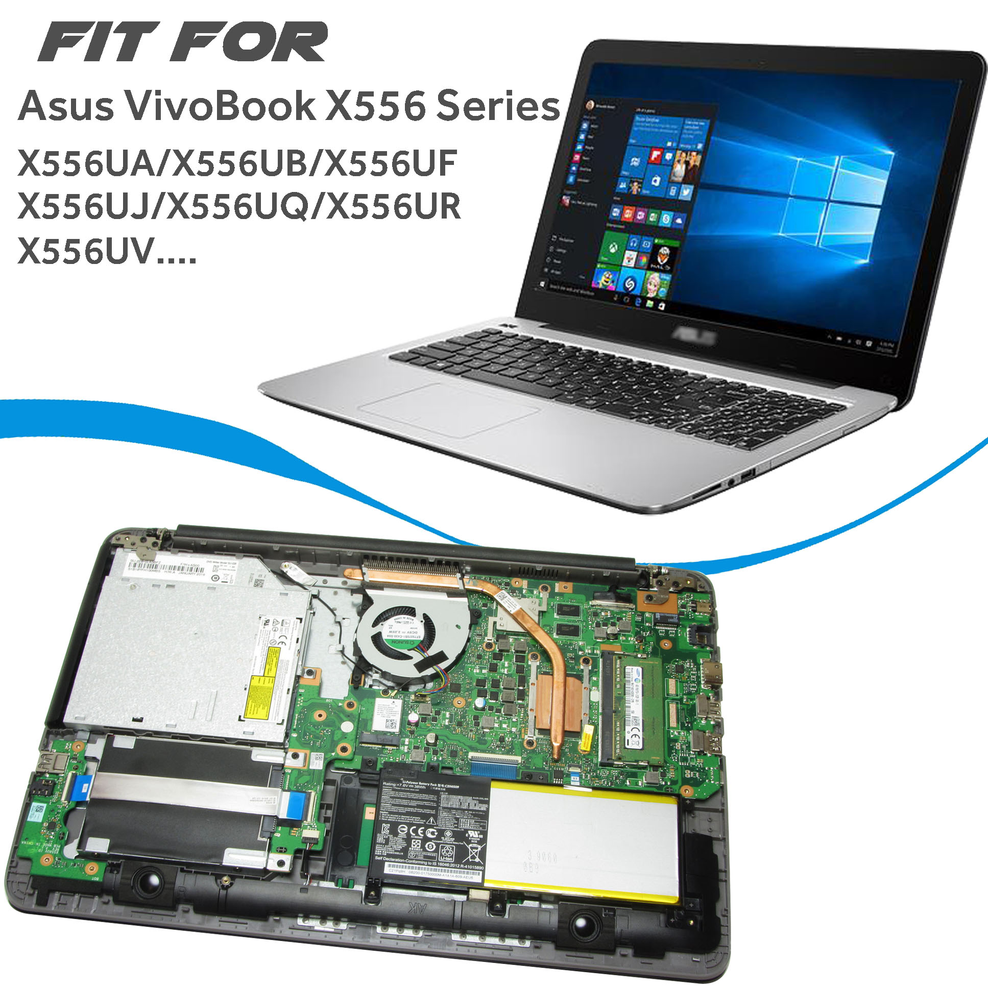Asus VivoBook X556UJ Laptop Treiber Windows XP
