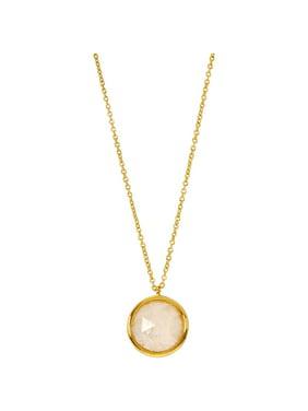 Gorjana Olivia Charm Two Tone 18 inches Necklace
