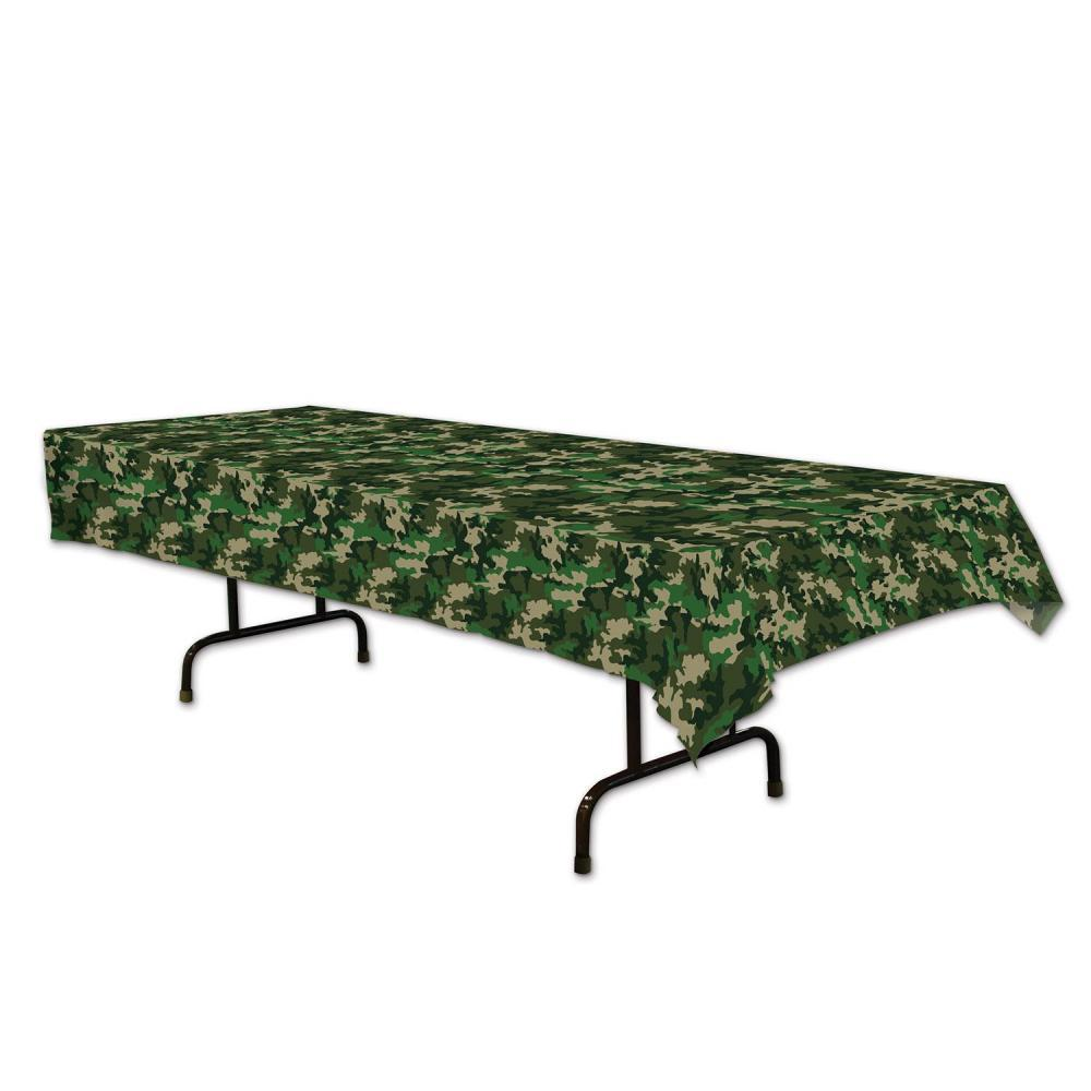 Beistle Company 59849 Camo Tablecover