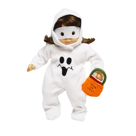 Cool Tween Girl Halloween Costume Ideas (Ghost Costume for American Girl Dolls Bitty)