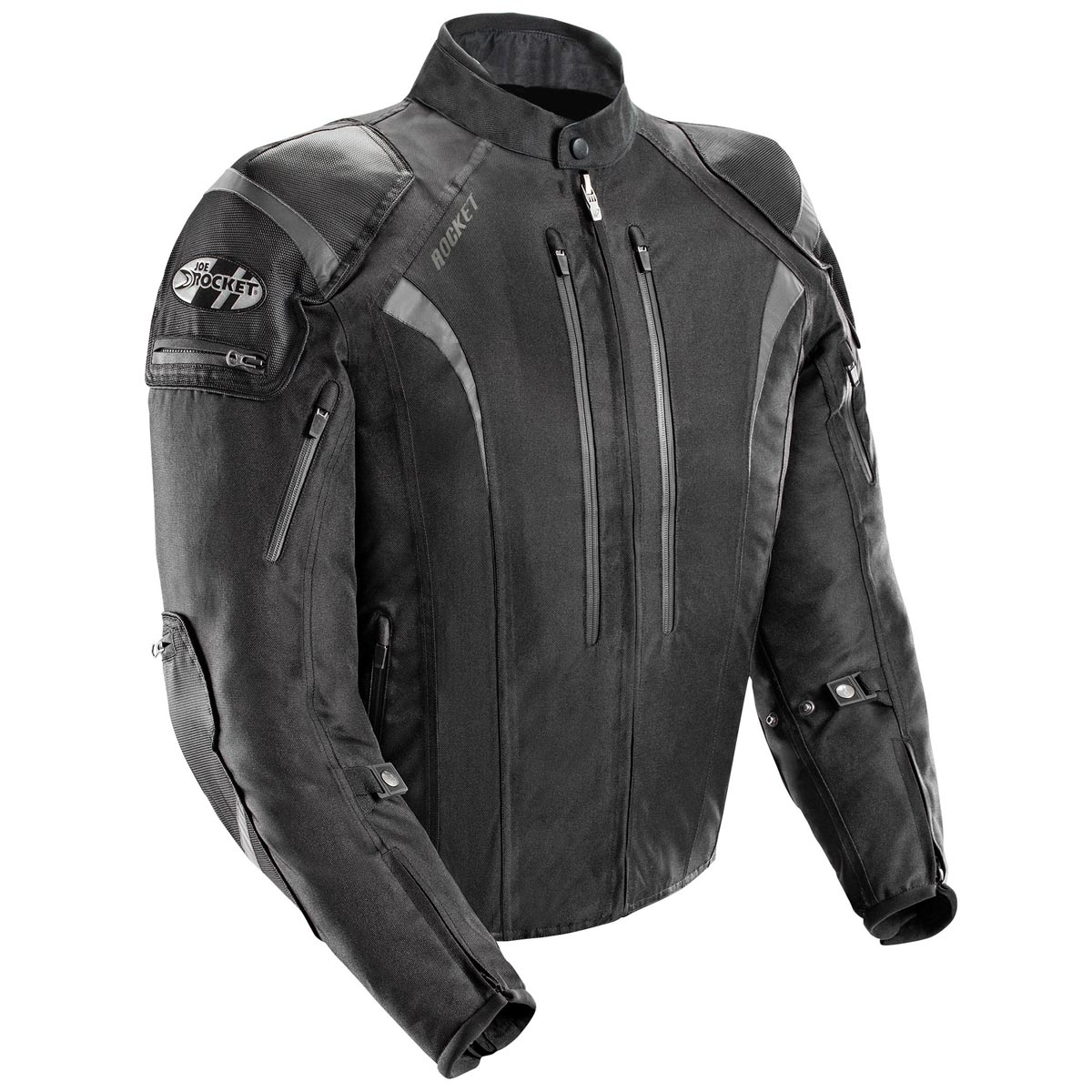 Joe Rocket Atomic 5.0 Mens Black Textile Jacket