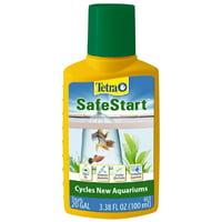 Tetra Aquarium Safe Start Bacteria for Aquariums, 3.38 oz