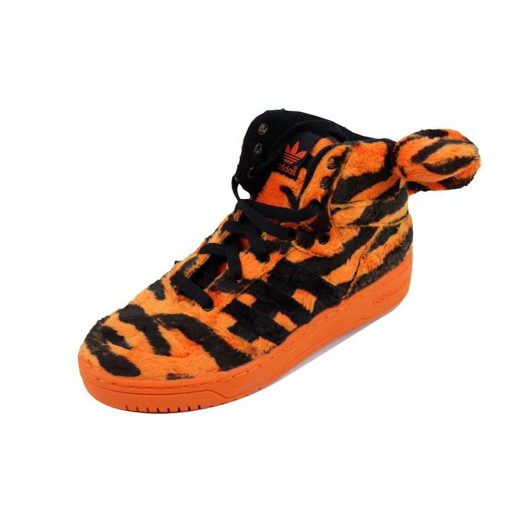 Adidas Men's Jeremy Scott Tiger Orangle Black-White M29010 by
