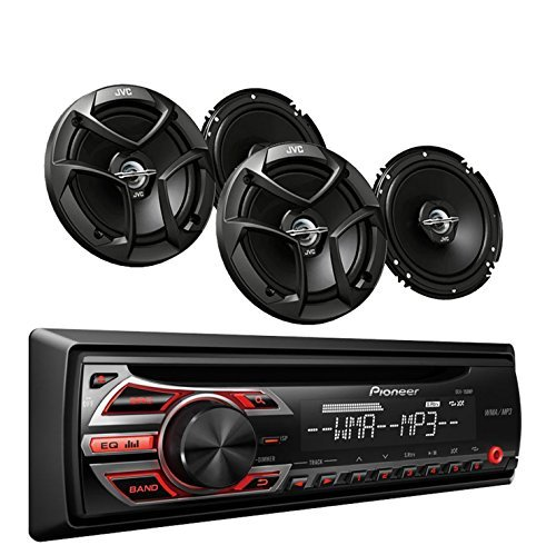 Pioneer DEH-150MP Car Audio CD MP3 Stereo Radio Player, F...