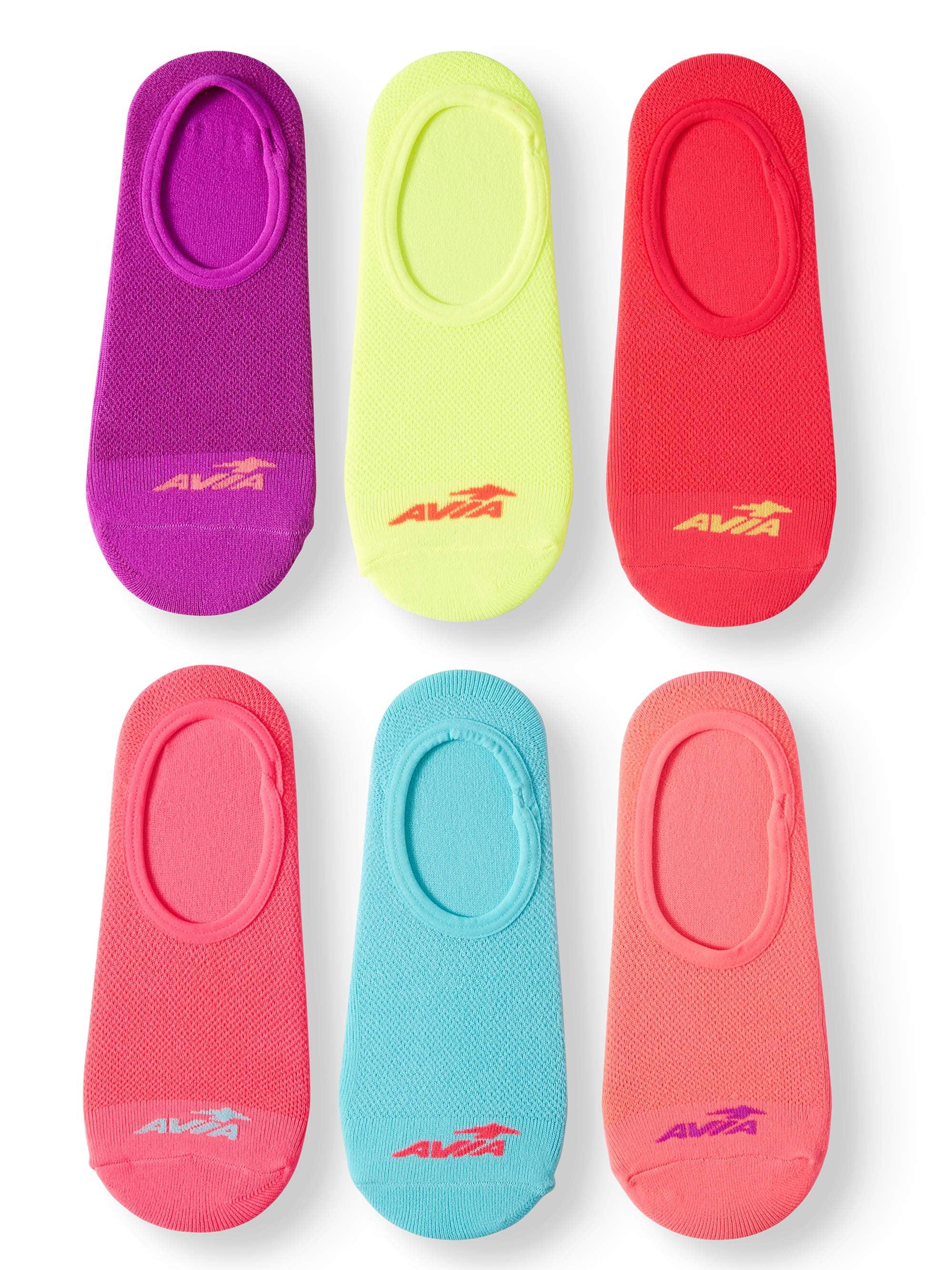 Ladies Sport Liner Socks, 6 Pack