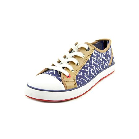 aa02be9f79049 Tommy Hilfiger Pamee 2 Women Round Toe Canvas Blue Sneakers - Walmart.com