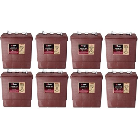 Replacement for JLG INDUSTRIES E300AJP 48 VOLTS 8 PACK replacement - Supplies For School