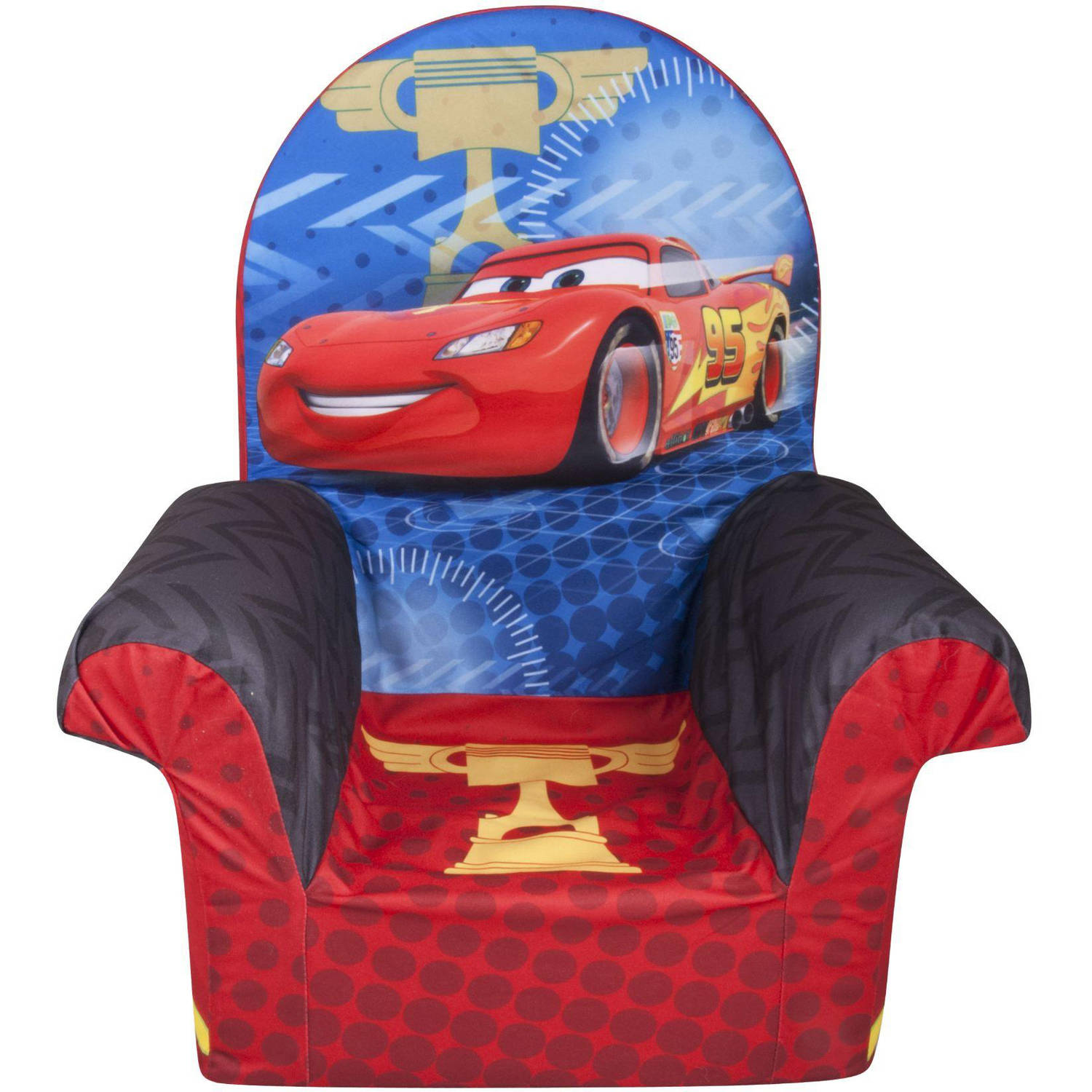 Marshmallow High Back Chair, Disney Cars 2