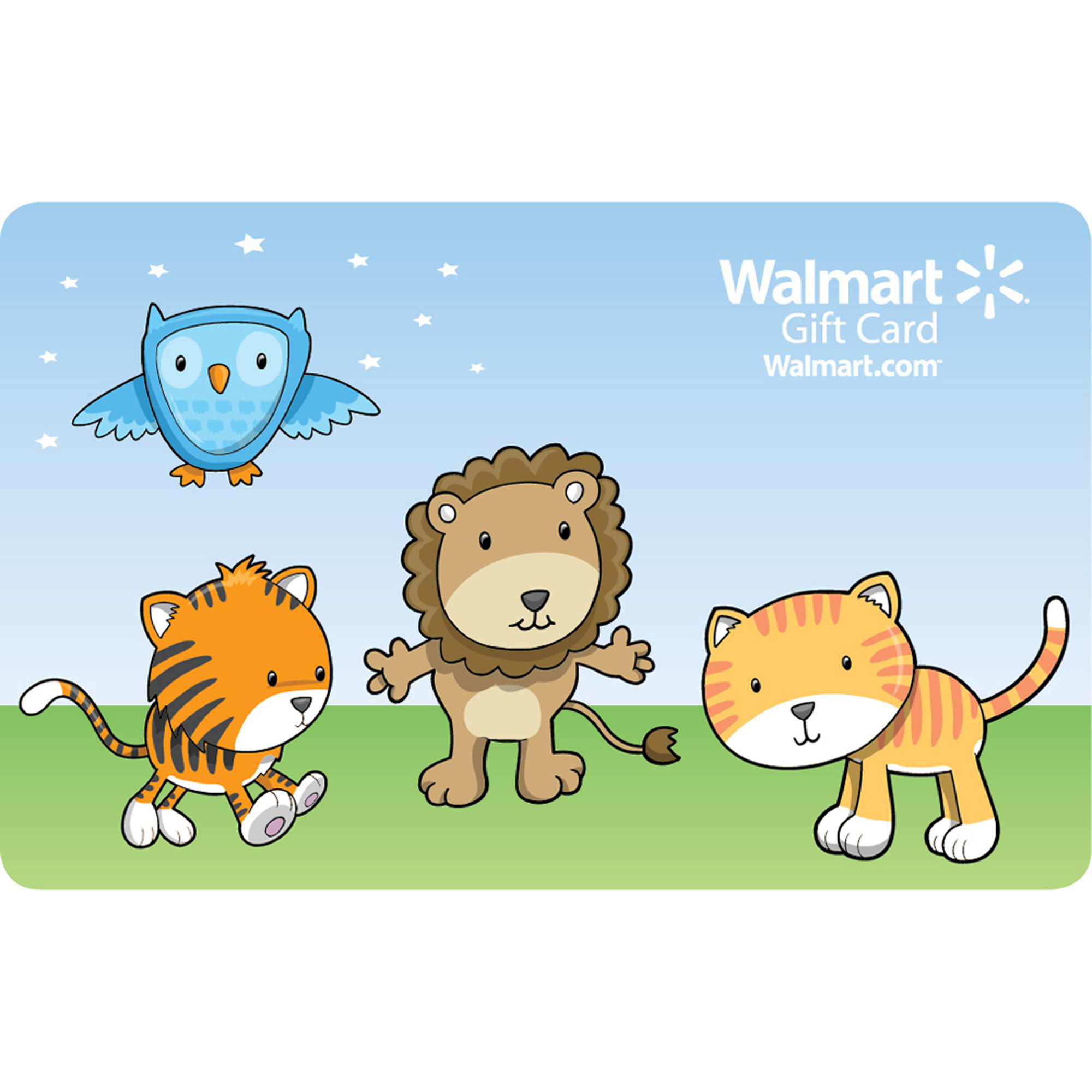 Animal Friends Gift Card