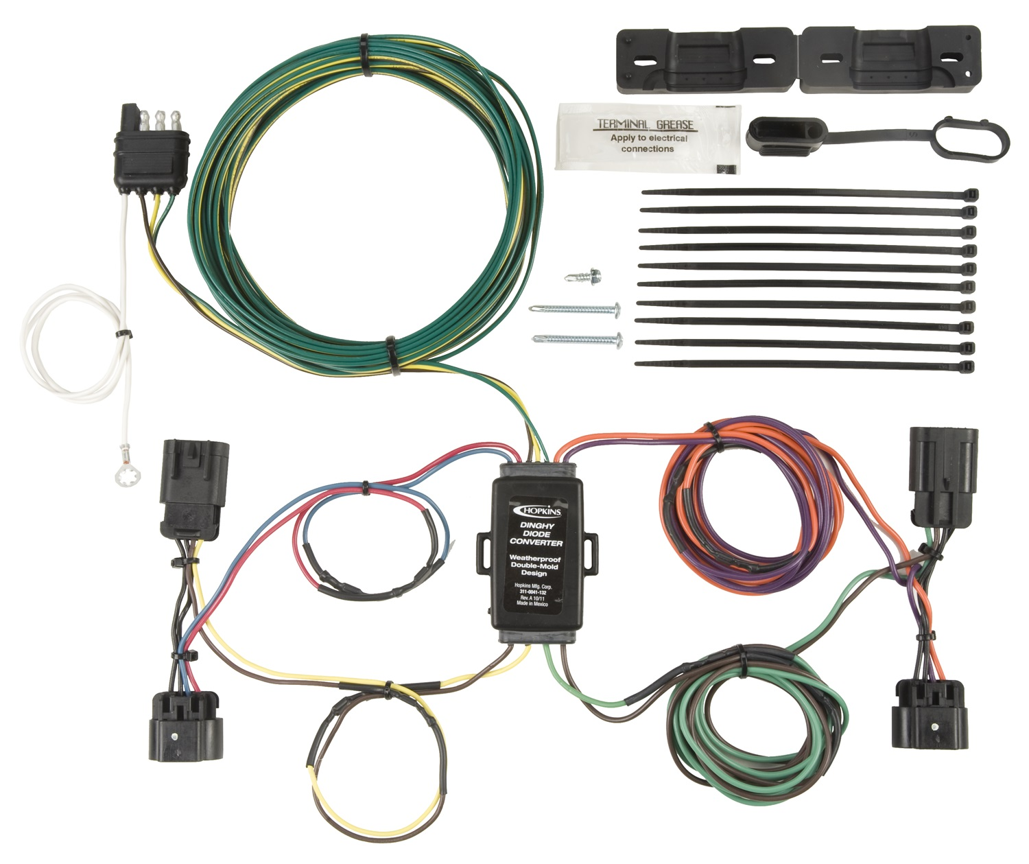 Towed Vehicle Wiring Harness Guide And Troubleshooting Of Vehicles Diagram Todays Rh 1 3 9 1813weddingbarn Com Tow Ready T1