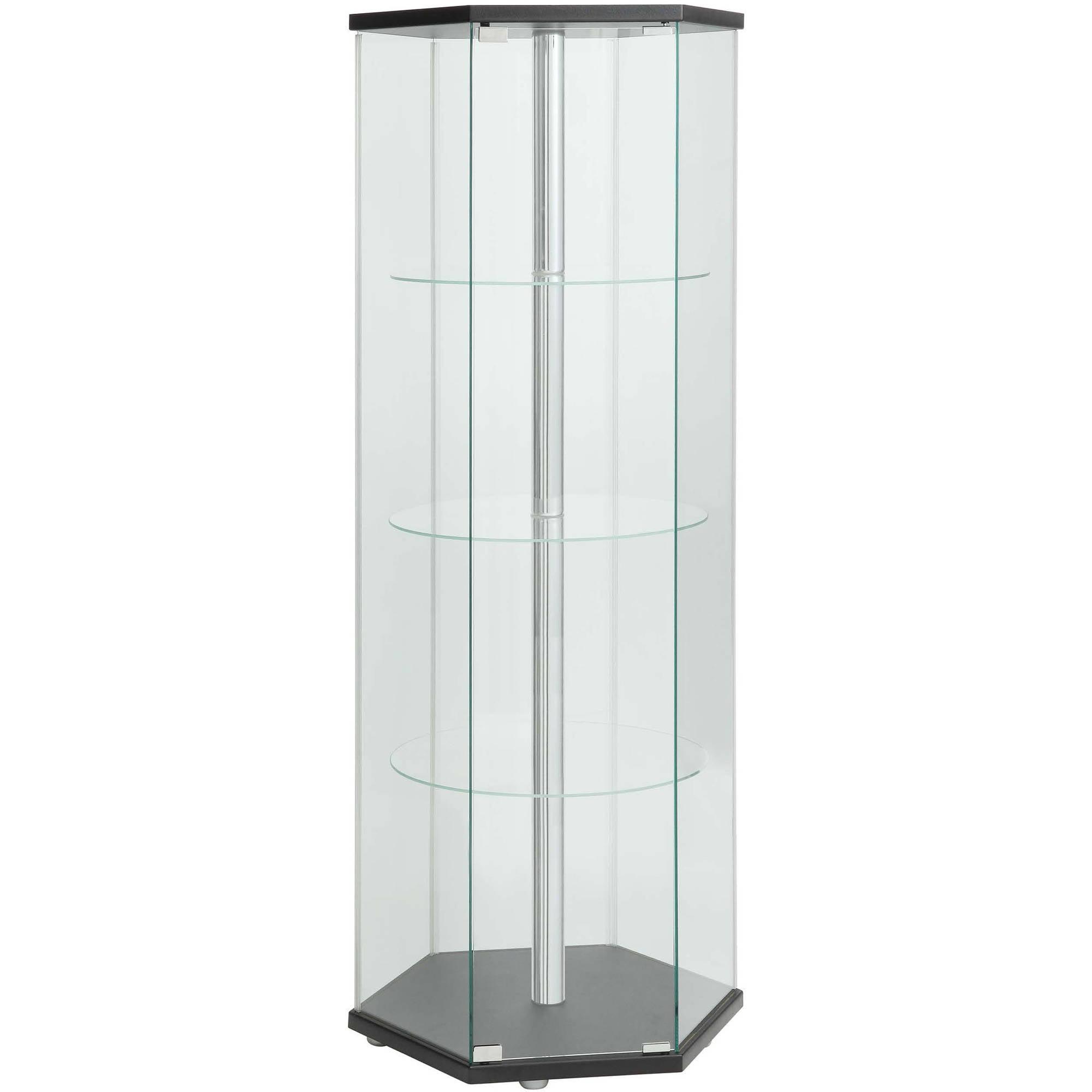 Coaster Company Glass Contemporary Curio Cabinet by Coaster Company