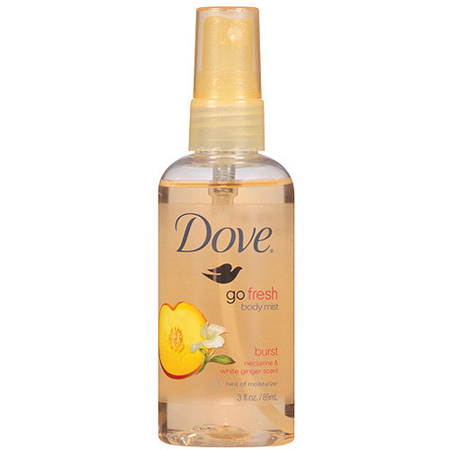 Dove Go Fresh Burst Body Mist, 3 fl oz - Walmart.com