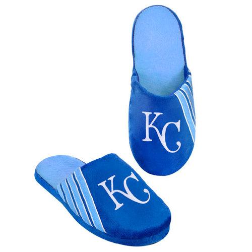 MLB - Kansas City Royals Hard Sole Stripe Slipper