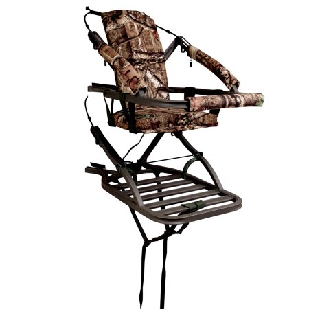 Summit Viper SD 81120 Self Climbing Treestand 300 Lbs - Bow & Rifle Deer (Best Tree Stand For Rifle Hunting)