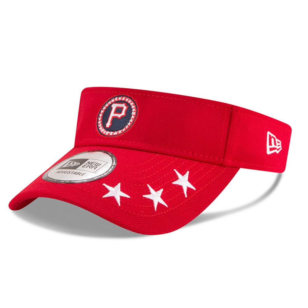 Pittsburgh Pirates New Era 2018 MLB All-Star Workout Visor - Red - OSFA