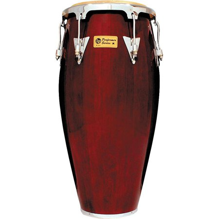 11 3/4 Wood Conga Drum (LP Performer Series Conga with Chrome Hardware 11 in. Quinto Dark)