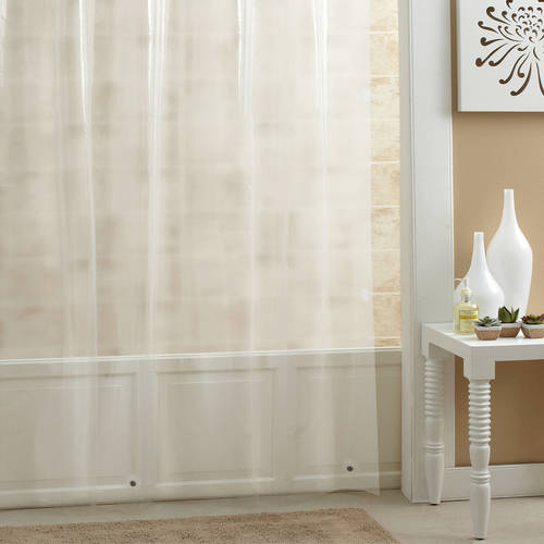 Excell PEVA Shower Curtain Liner